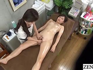 Jav cfnf lesbo massage clinic inward stimulation